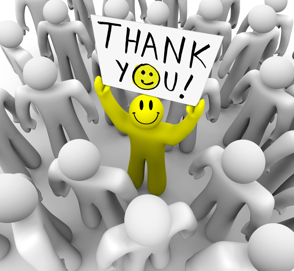 Thanks you... Too everyone on this page and to those who ... |Thank You Everyone Cartoon